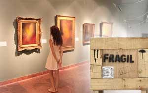 Transport d'objets d'art