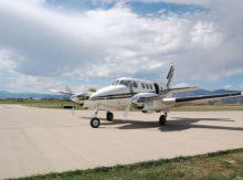 Avion-taxi Beech 90