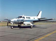 Avion-taxi Beech 99