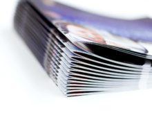 Livraison de brochures commerciales sur un salon professionnel en Angleterre
