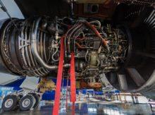Transport de moteur d'avion