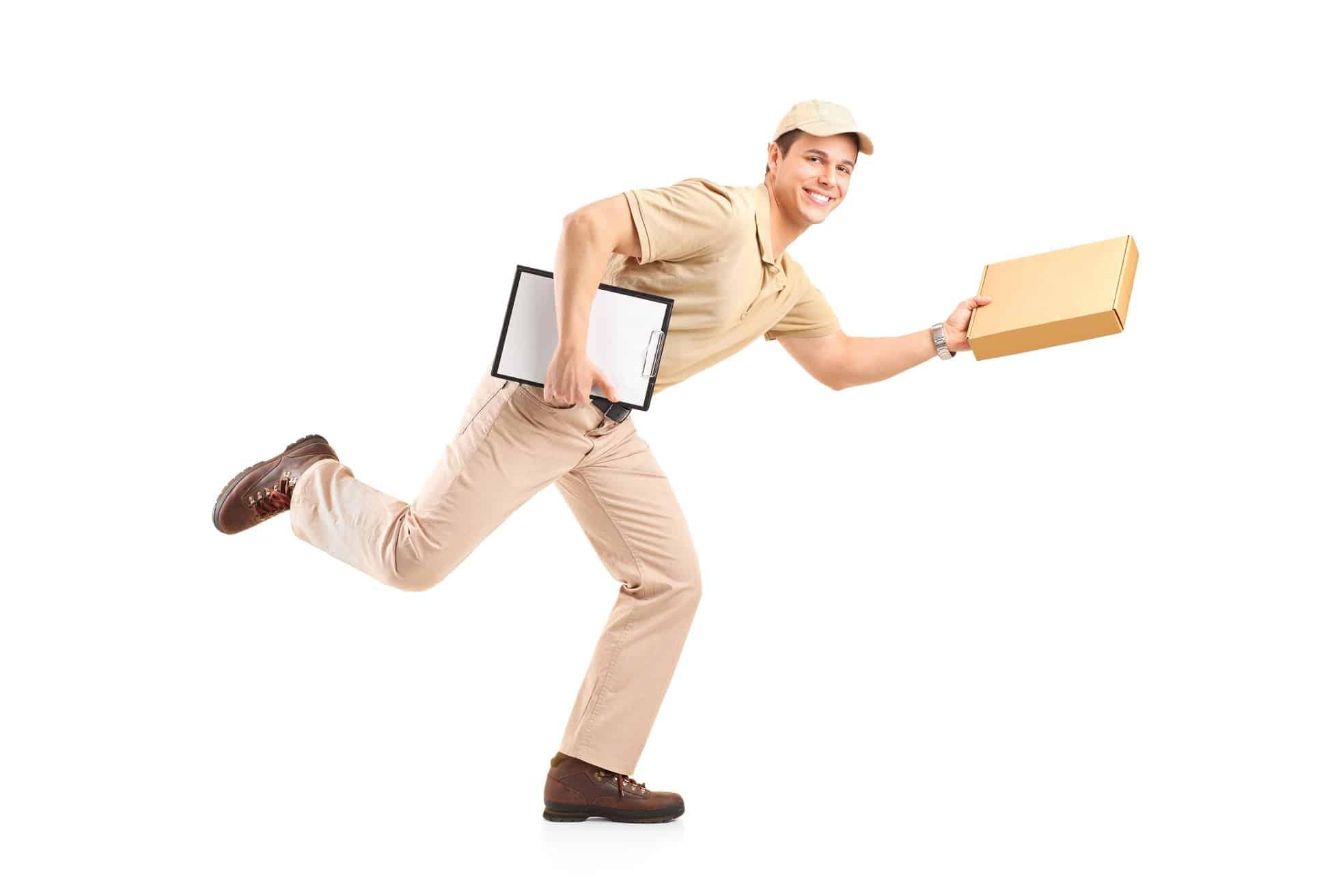 Consultation de la CMR avant la livraison express chez le client