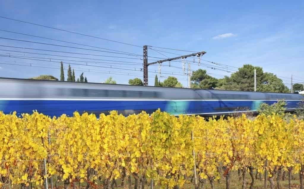 Livraison express par fret TGV