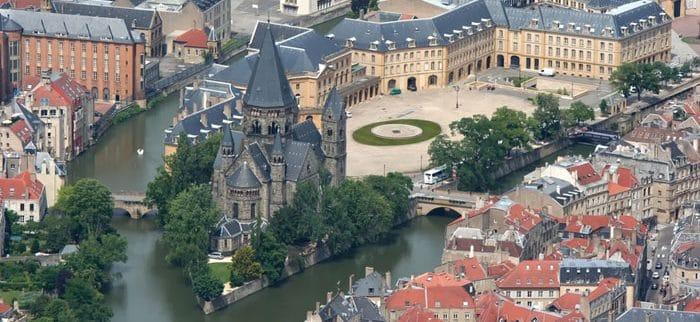 Taxi colis à Metz